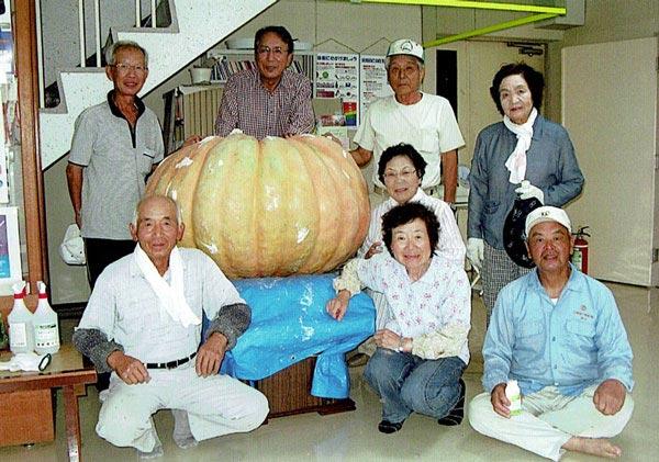 ジャンボカボチャ かぼちゃの会