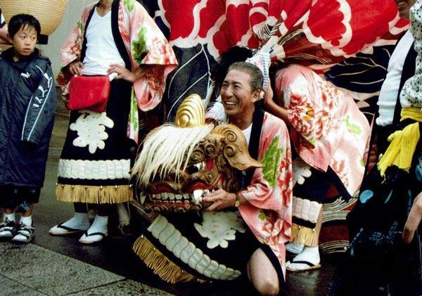 北安田町 獅子舞